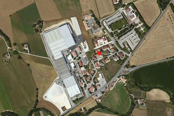Immagine n0 - Planimetria - Vista aerea - Asta 820