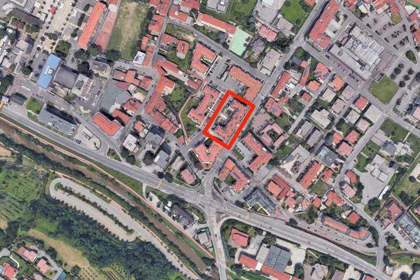 Immagine n0 - Planimetria - Vista aerea - Asta 8201