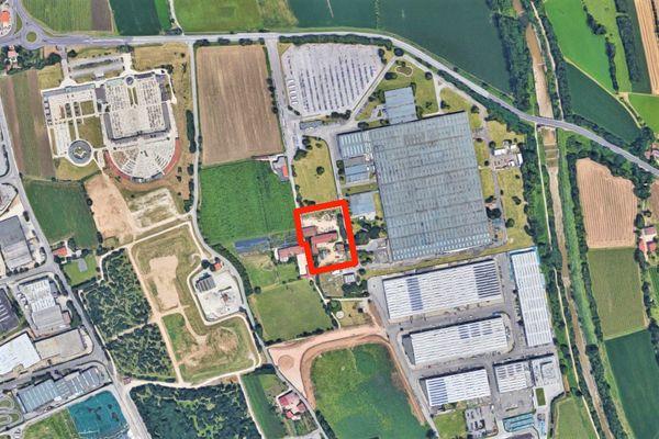 Immagine n0 - Planimetria - Vista aerea - Asta 8206