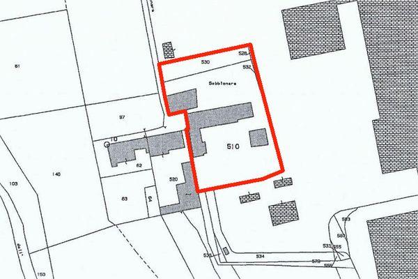 Immagine n1 - Planimetria - Estratto di mappa - Asta 8206