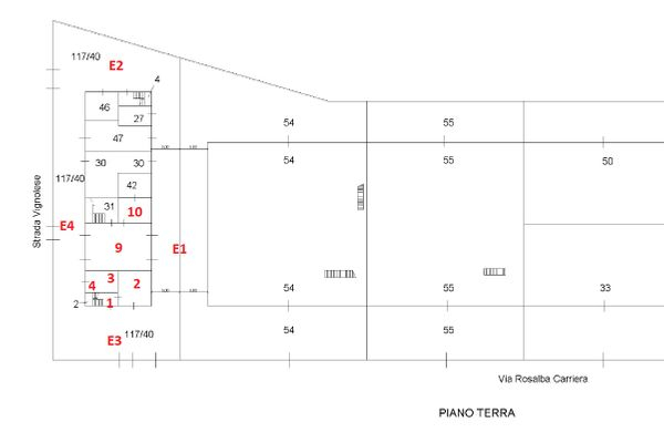 Immagine n1 - Planimetry - Ground floor - Asta 8220