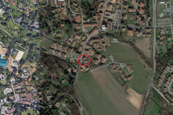 Immagine n0 - Planimetria - Vista aerea - Asta 8226