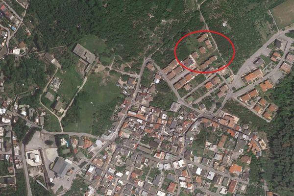 Immagine n0 - Planimetria - Vista aerea - Asta 8249