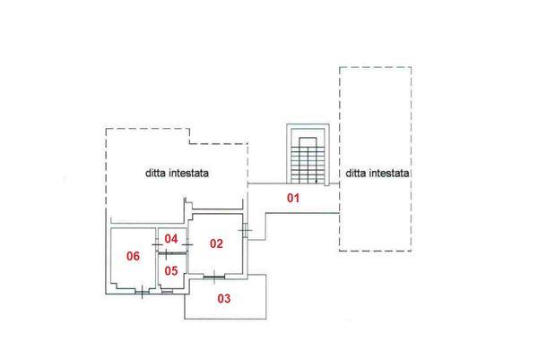 Immagine n1 - Planimetria - Piano primo - Asta 8306