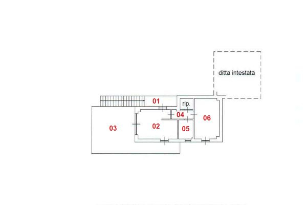 Immagine n1 - Planimetria - Piano primo - Asta 8312
