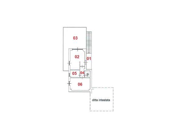 Immagine n1 - Planimetria - Primer piso - Asta 8314