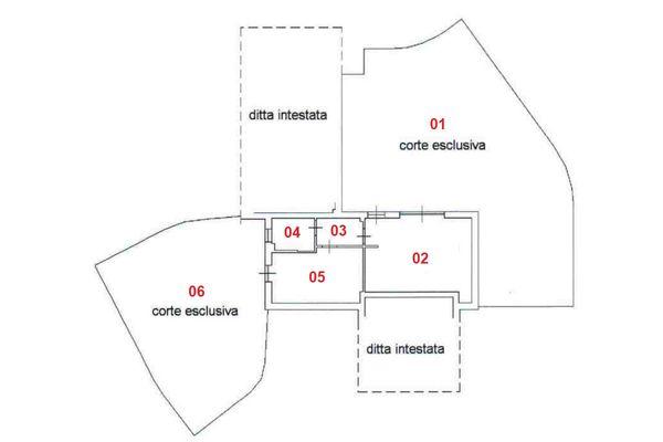 Immagine n1 - Planimetria - Piano terra - Asta 8315