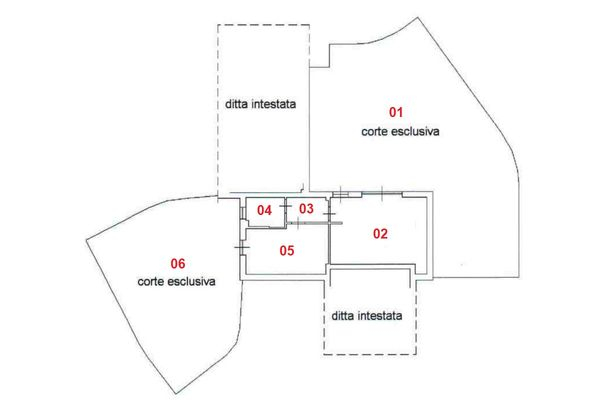 Immagine n1 - Planimetry - Ground floor - Asta 8315