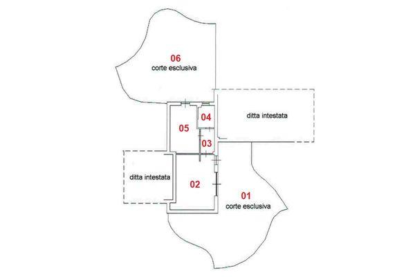 Immagine n1 - Planimetria - Piano terra - Asta 8319