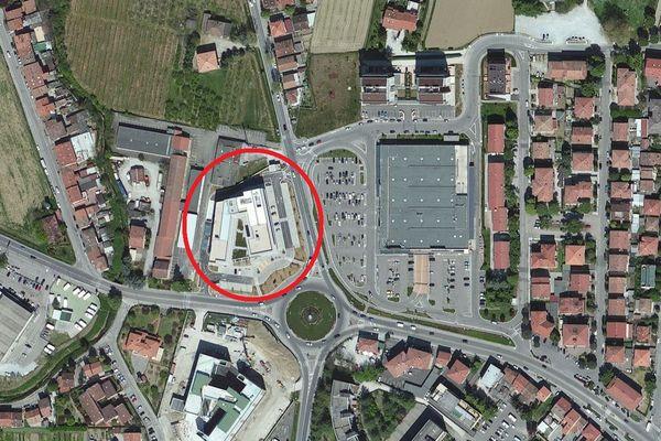 Immagine n0 - Planimetria - Vista aerea - Asta 832