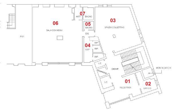 Immagine n6 - Planimetria - Piano terra - Asta 832