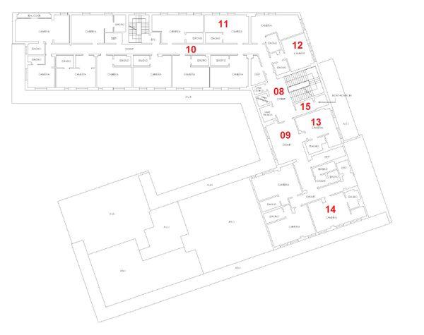 Immagine n7 - Planimetria - Piano primo - Asta 832