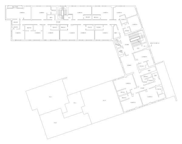 Immagine n3 - Planimetria - Piano secondo - Asta 832