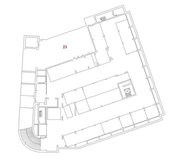 Immagine n1 - Planimetria - Piano secondo interrato - Asta 832