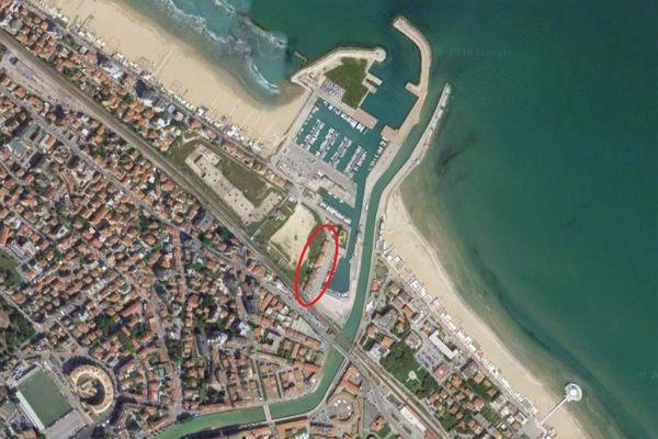 Immagine n1 - Planimetria - Vista aerea - Asta 8325