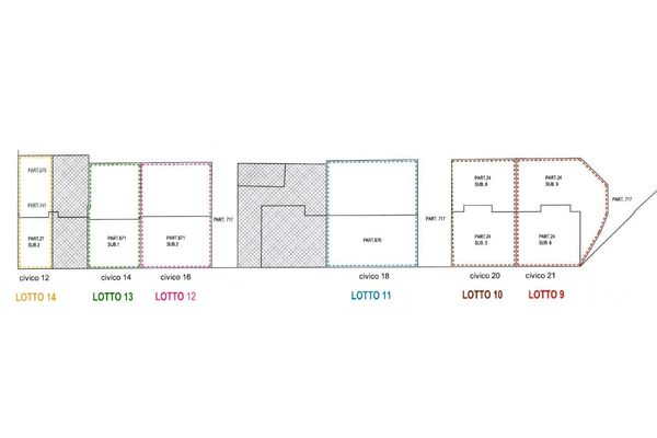 Immagine n1 - Planimetry - Ground floor - Asta 8325