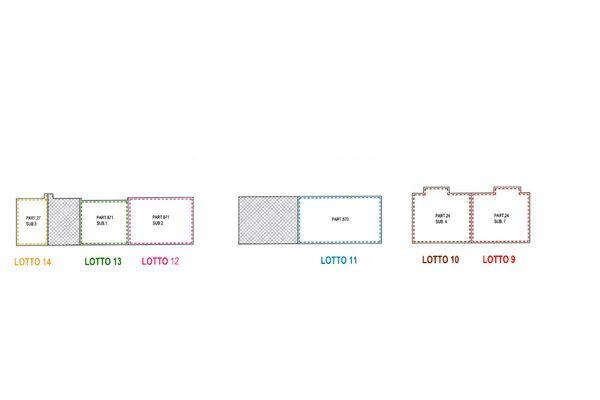 Immagine n2 - Planimetry - First floor - Asta 8325