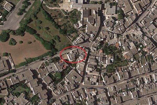 Immagine n0 - Planimetria - Vista aerea - Asta 8336