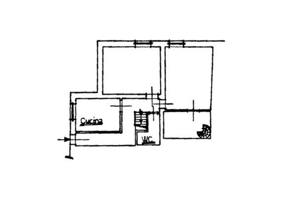 Immagine n2 - Planimetry - Ground floor - Asta 8337