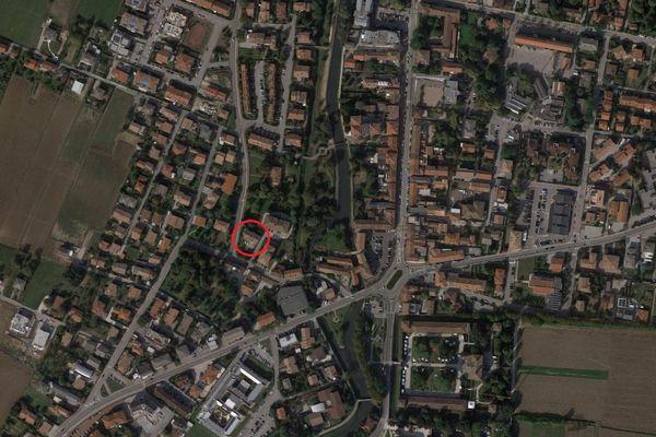 Immagine n0 - Planimetria - Vista aerea - Asta 8344