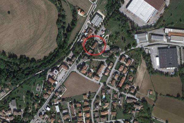Immagine n0 - Planimetria - Vista aerea - Asta 8371