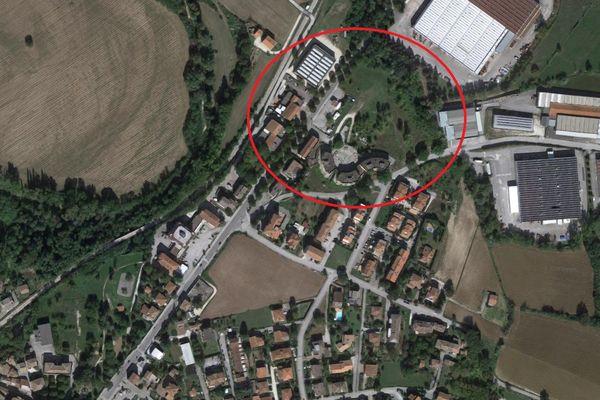 Immagine n0 - Planimetria - Vista aerea - Asta 8373