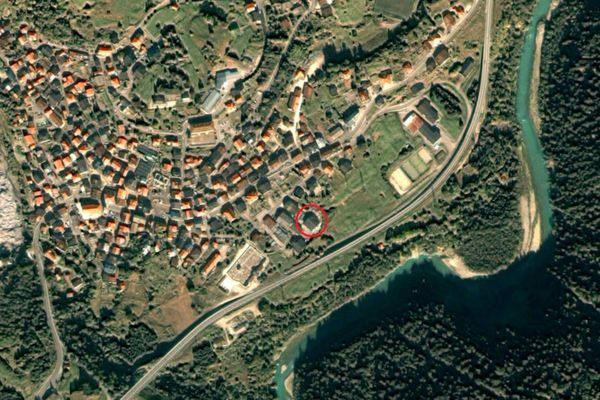Immagine n0 - Planimetria - Vista aerea - Asta 8377