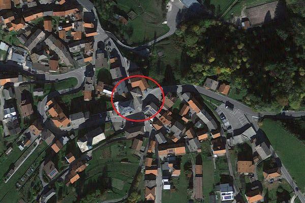 Immagine n0 - Planimetria - Vista aerea - Asta 8381