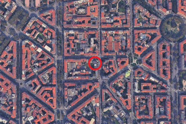 Immagine n0 - Planimetry - Aerial view - Asta 8383