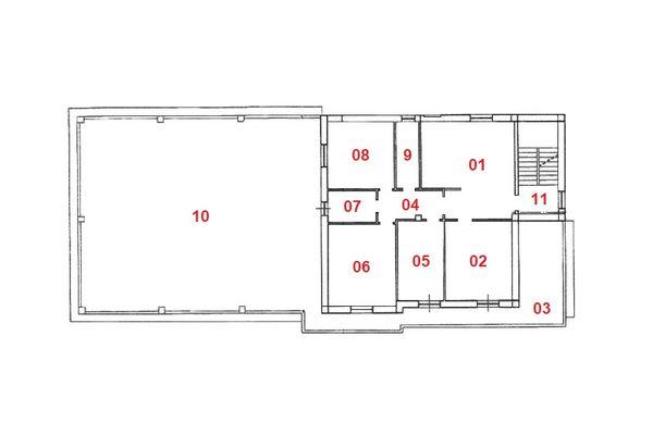 Immagine n1 - Planimetria - Piano primo - Asta 8404