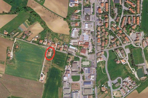 Immagine n0 - Planimetria - Vista aerea - Asta 8405