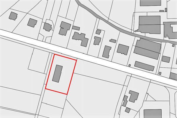 Immagine n1 - Planimetria - Estratto di mappa - Asta 8405