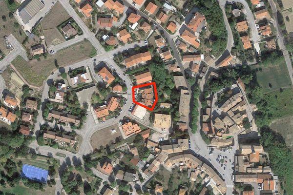 Immagine n0 - Planimetria - Vista aerea - Asta 8423