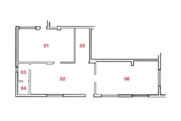Immagine n0 - Planimetry - Ground floor - Asta 8425