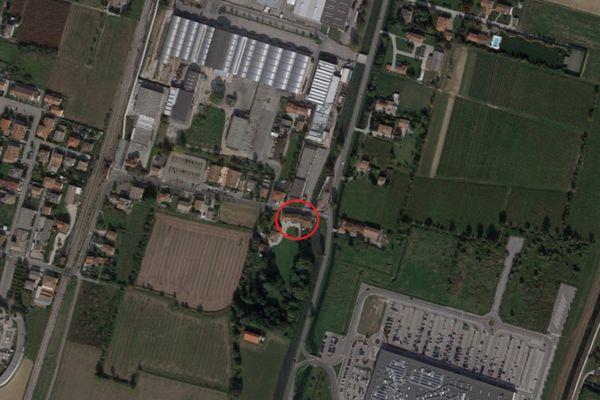 Immagine n0 - Planimetria - Vista aerea - Asta 8465