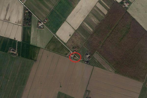 Immagine n0 - Planimetria - Vista aerea - Asta 8467