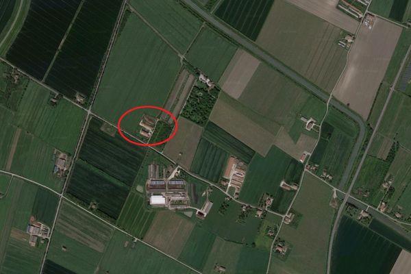 Immagine n0 - Planimetria - Vista aerea - Asta 8468