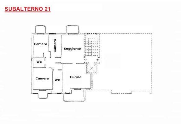 Immagine n1 - Planimetry - Second floor - Asta 8476