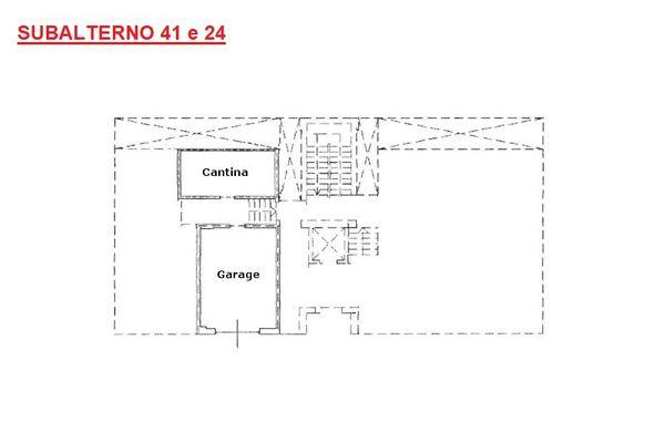 Immagine n2 - Planimetry - Ground floor - Asta 8476