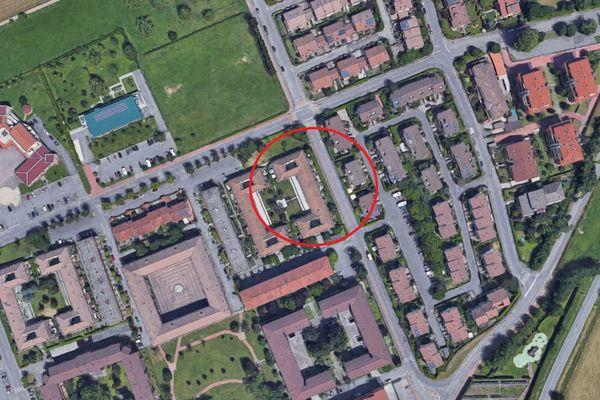 Immagine n0 - Planimetria - Vista aerea - Asta 8488