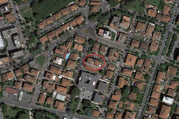 Immagine n0 - Planimetria - Vista aerea - Asta 8502