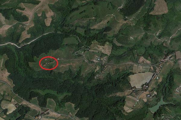 Immagine n0 - Planimetria - Vista aerea - Asta 8543
