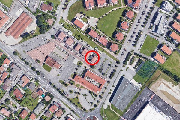 Immagine n0 - Planimetria - Vista aerea - Asta 8554
