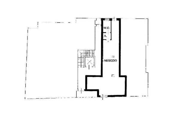 Immagine n1 - Planimetria - Piano terra - Asta 8557