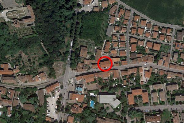 Immagine n0 - Planimetria - Vista aerea - Asta 8558