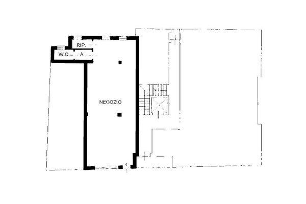 Immagine n1 - Planimetria - Piano terra - Asta 8558