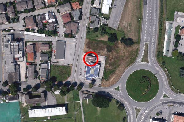 Immagine n0 - Planimetria - Vista aerea - Asta 8562