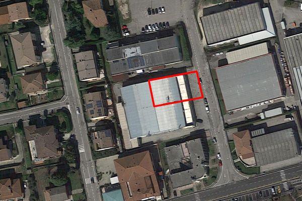 Immagine n0 - Planimetria - Vista aerea - Asta 8573