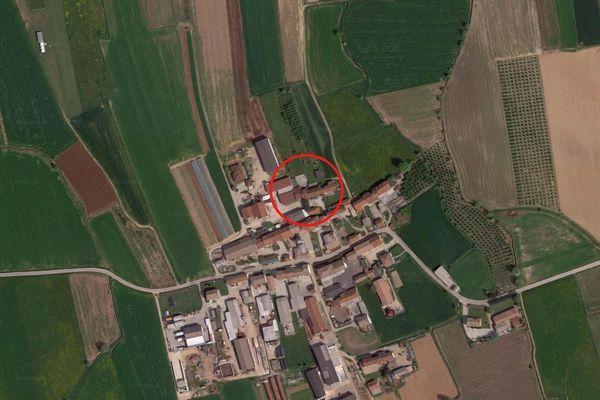 Immagine n0 - Planimetria - Vista aerea - Asta 8617
