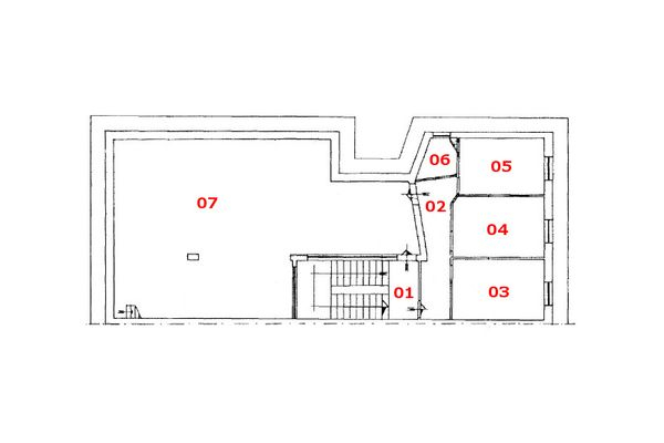 Immagine n0 - Planimetria - Piano terzo - Asta 8622